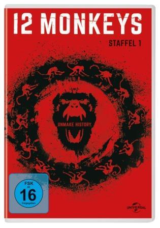 VERLOSUNG: »12 Monkeys« 1 DVD und 1 Blu-ray
